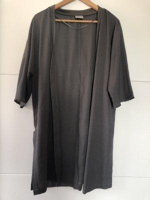 Khakifarbener Kimono kurzarm