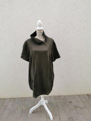 khakifarbenes Kleid/Tunika