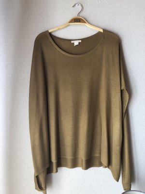 H&M Boatneck Shirt multicolored