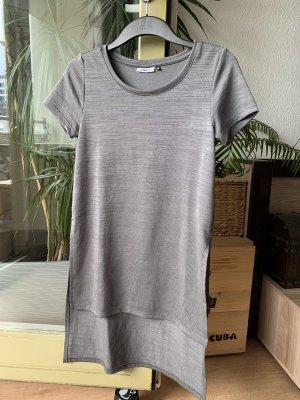 Only Camisa larga caqui-gris