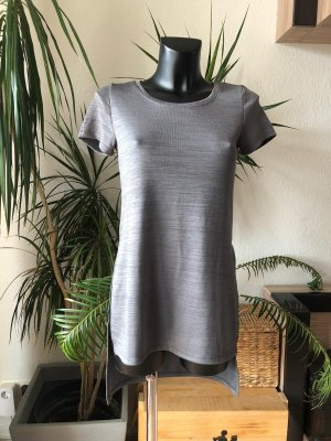 Khakifarbenes Shirtkleid Longshirt von Only