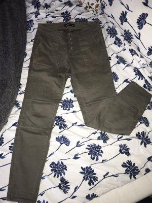 New Yorker Pantalone kaki cachi-grigio-verde