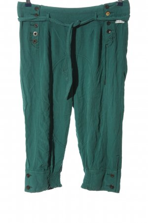Khujo 3/4 Length Trousers turquoise casual look