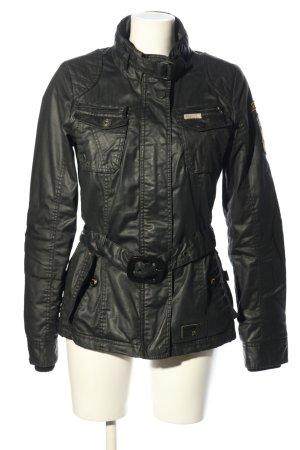 Khujo Kurtka typu biker czarny W stylu casual