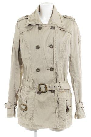 Khujo Marynarska kurtka kremowy W stylu casual