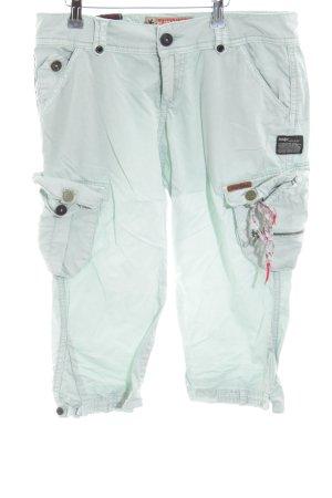 Khujo Cargo Pants turquoise casual look