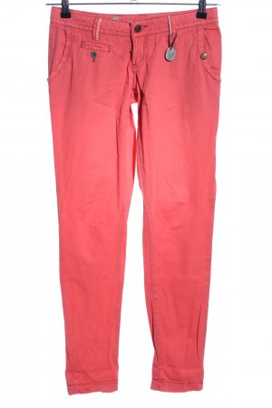 Khujo Chinohose rot Casual-Look