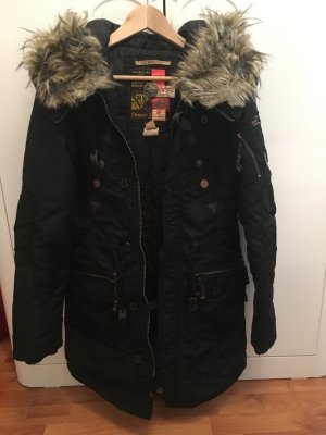 Khujo Claire Winterjacke in Black