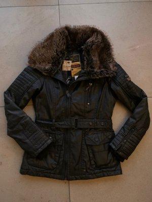 Khujo Vintage Biker Jacket black