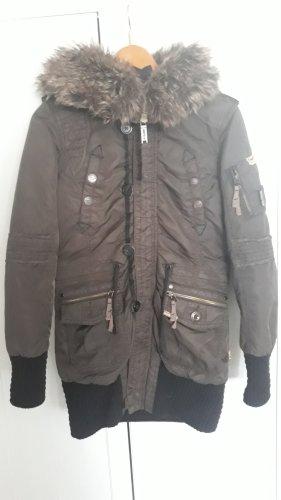 Khujo Damen Winter Mantel