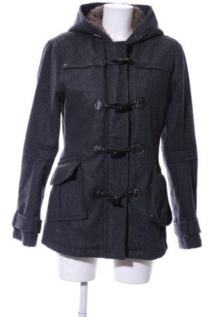 Khujo Duffle-coat bleu style décontracté
