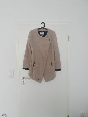 Khujo Futrzana kurtka kremowy-beżowy