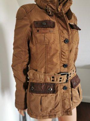 Khujo gefütterte Jacke im Urban Style mit Details (Gr. M)