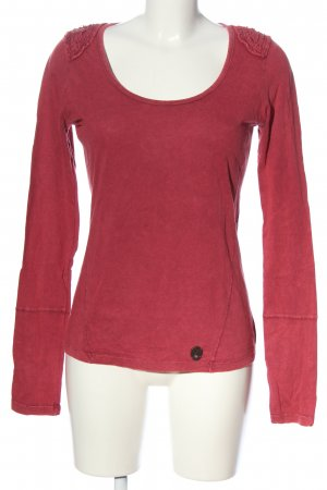 khujo genuine Schlupf-Bluse rot Casual-Look