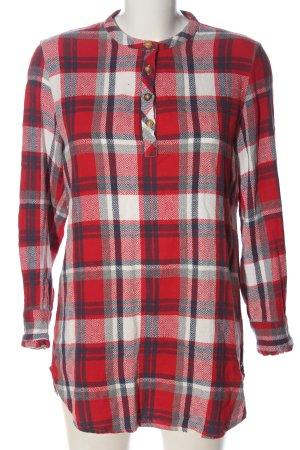 Khujo Koszula w kratę czerwony-biały Na całej powierzchni W stylu casual