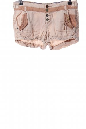 Khujo Hot pants roze-bruin casual uitstraling