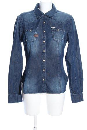 Khujo Denim Shirt blue casual look