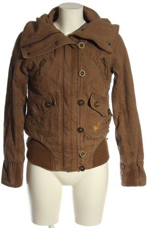 Khujo Short Jacket brown casual look