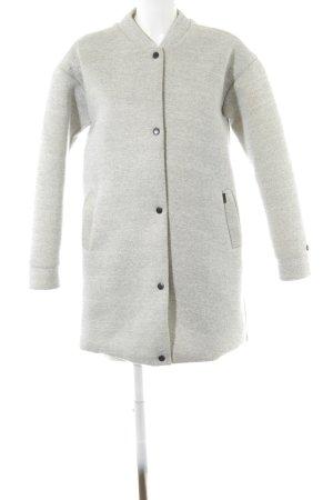 Khujo Short Coat light grey casual look