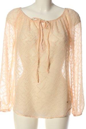 Khujo Langarm-Bluse nude Elegant