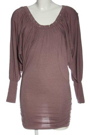 Khujo Długa koszulka fiolet Melanżowy Elegancki