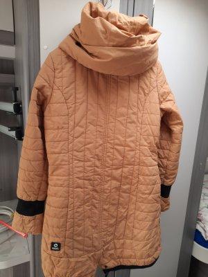 Khujo Manteau à capuche orange doré coton