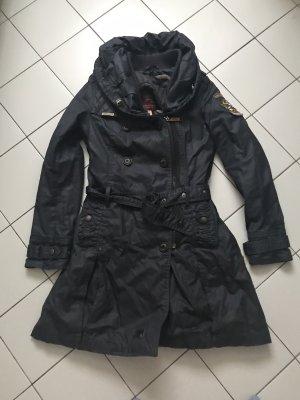 Khujo Manteau mi-saison noir