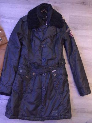 Khujo Mantel schwarz, Größe L