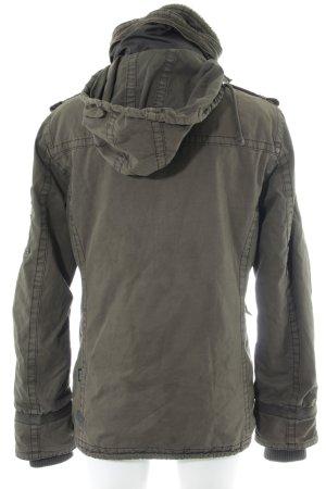 Khujo Military Jacket khaki casual look
