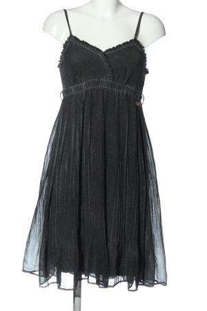 Khujo Minikleid schwarz Casual-Look