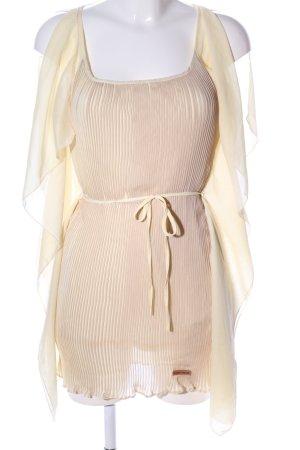 Khujo Minikleid creme Elegant