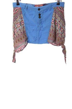 Khujo Mini-jupe motif graphique style décontracté