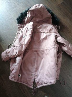 Kuhjo Chaqueta larga color rosa dorado