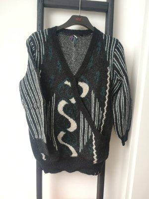 Khujo Maglione di lana multicolore