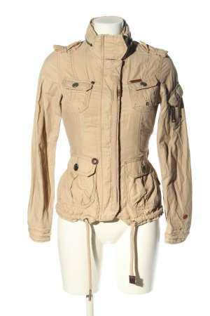 Khujo Safari Jacket cream casual look