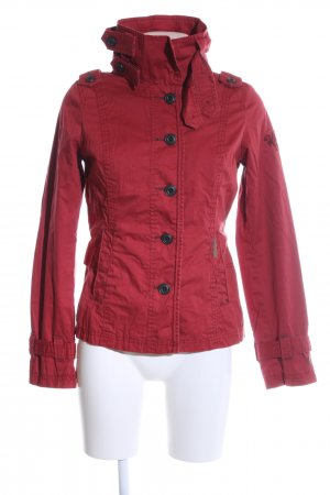 Khujo Safari Jacket red casual look