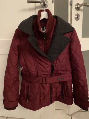 Khujo Quilted Jacket bordeaux