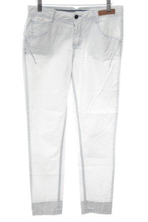 Khujo Jersey Pants white-light grey casual look