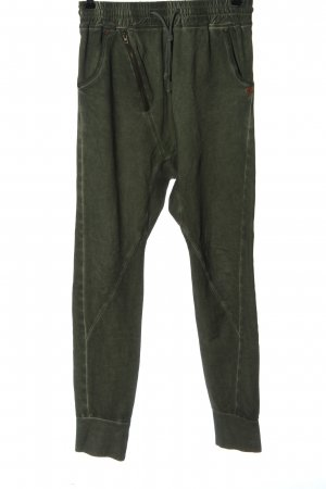 Khujo Spodnie dresowe khaki Prosty styl