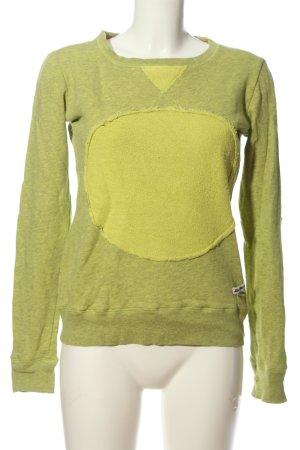 Khujo Sweatshirt grün Casual-Look