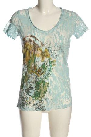 Khujo T-shirt imprimé avec thème style décontracté