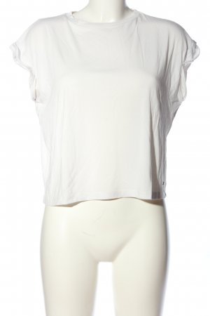 Khujo T-Shirt weiß schlichter Stil