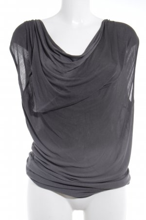 Khujo T-Shirt dunkelgrau Casual-Look