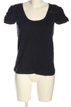 Khujo T-Shirt black casual look