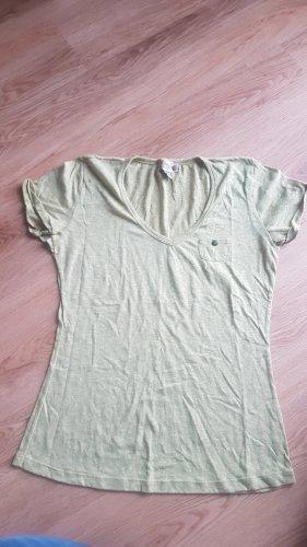 khujo t-shirt senffarben ocker