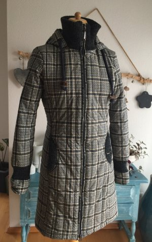 Khujo Quilted Coat multicolored