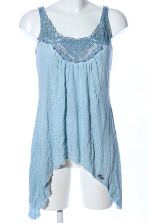 Khujo Trägertop blau Casual-Look