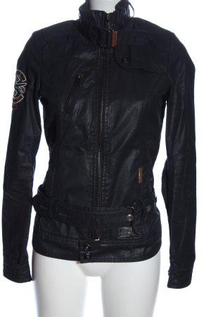 Khujo Übergangsjacke schwarz Casual-Look