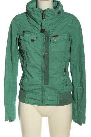 Khujo Kurtka przejściowa zielony W stylu casual