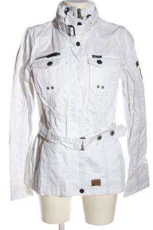 Khujo Übergangsjacke weiß Casual-Look